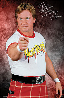 WWE Rowdy Roddy Piper Classic Signature Series Wrestling Poster - Trends 2015