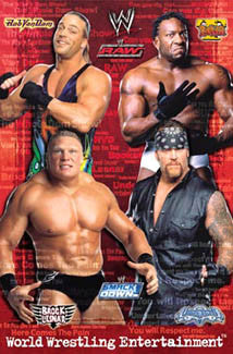WWE Raw/Smackdown Superstars of Wrestling 2003 Poster- Trends Int'l.