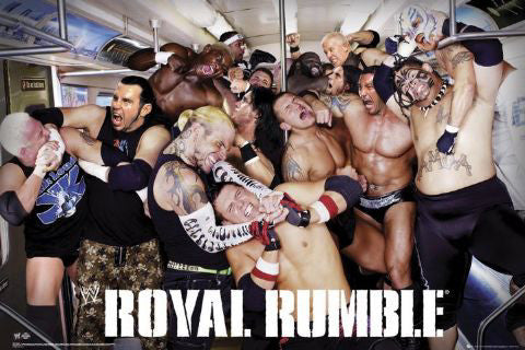 "WWE Royal Rumble ""Subway Slam"" - GB Eye 2008"