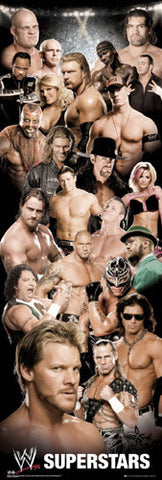 "WWE ""Big-Time Superstars"" (Door-Sized) - GB Eye"
