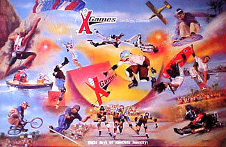 """X Games San Diego"" - Clemente Micarelli 1997"