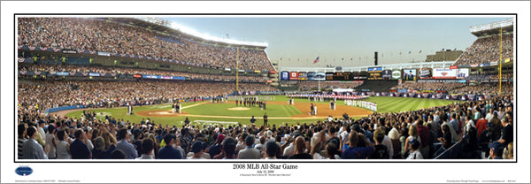 Yankee Stadium 2008 MLB All-Star Game Panoramic Poster Print - Everlasting Images Inc.