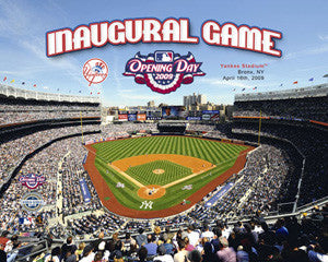 New Yankee Stadium Inaugural Game Commemorative Poster Print - Photofile 2009