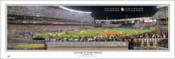 Last Night at Yankee Stadium (9/21/2008) Premium Panoramic Poster - Everlasting Images