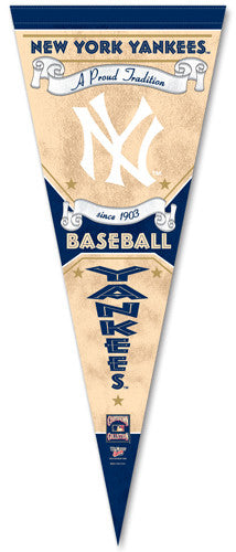 "New York Yankees ""Since 1903"" Cooperstown Pennant - Wincraft"