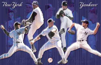 "New York Yankees ""Pitching Stars 2001"" - Costacos Sports"