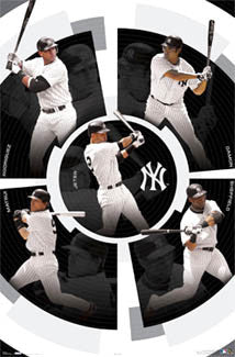 "New York Yankees ""5 Bombers"" - Costacos 2006"