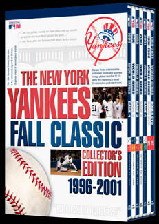DVD: N.Y. Yankees Fall Classic 1996-2001 7-DVD Set