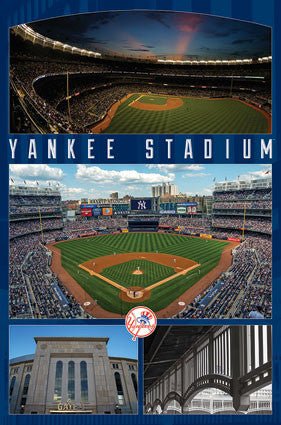 Yankee Stadium Celebration New York Yankees Official MLB Stadium Poster - Trends International
