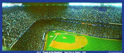 "Yankee Stadium ""ALCS 2003 Aerial"" - Worldview Photography"