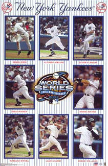"New York Yankees ""World Series 2003"" - Starline Inc."
