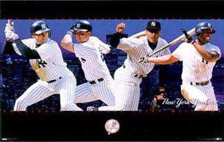 "New York Yankees ""Four Stars"" - Costacos 1998"