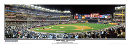 New York Yankees World Series 2009 Game Six Panoramic Poster Print - Everlasting Images