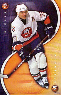 "Alexei Yashin ""Action"" New York Islanders NHL Hockey Poster - Starline 2001"