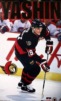 "Alexei Yashin ""Action"" Ottawa Senators Poster - Starline Inc. 1994"