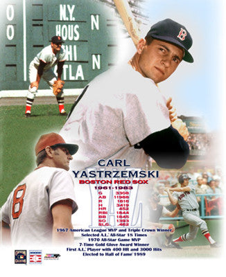 "Carl Yastrzemski ""Yaz Forever"" Career Commemorative Poster Print  - Photofile Inc."