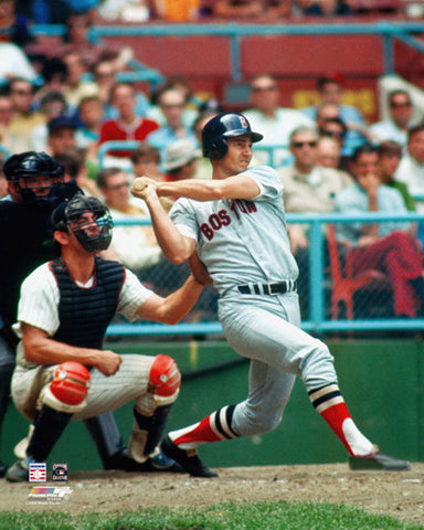 "Carl Yastrzemski ""Classic"" (c.1972) Boston Red Sox Premium Poster Print - Photofile"