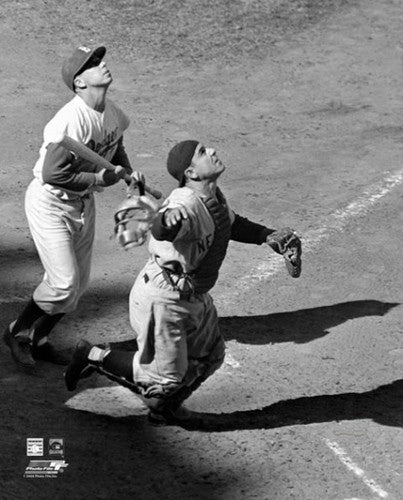"Yogi Berra ""The Catcher"" (c.1953) New York Yankees Premium Poster Print - Photofile Inc."