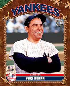 "Yogi Berra ""Retro Classic"" (c.1953) New York Yankees Premium Poster Print - Photofile Inc."