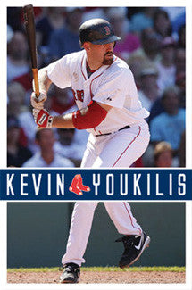 "Kevin Youkilis ""Superstar"" Boston Red Sox Poster - Costacos 2010"