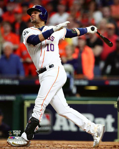 "Yuli Gurriel 2017 World Series ""Game 5 Blast"" Houston Astros Premium Poster Print - Photofile 16x20"