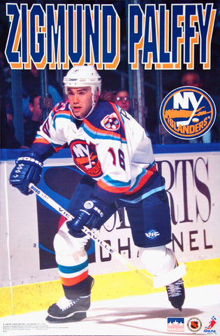 "Zigmund Palffy ""Action"" New York Islanders Poster (1997) - Starline Inc."