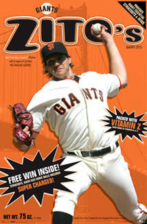 "Barry Zito ""Breakfast of Champions"" - Costacos 2007"