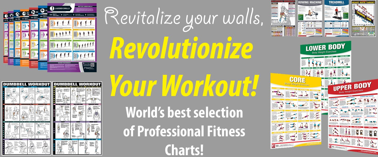 Fitness Charts - Revolutionize Your Workout