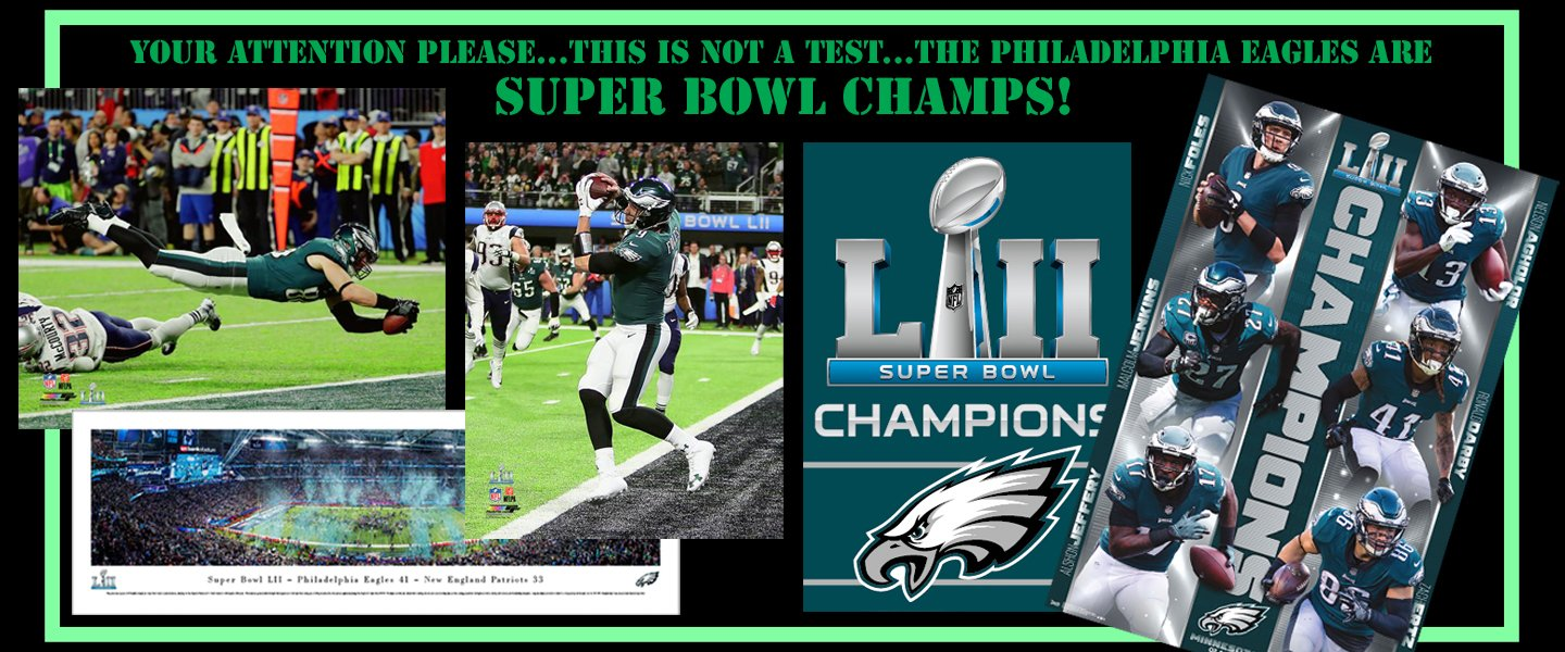 Philadelphia Eagles Super Bowl Champs