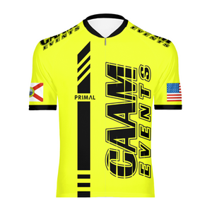 CAAM Events Omni Jersey - Hi-Vis Yellow