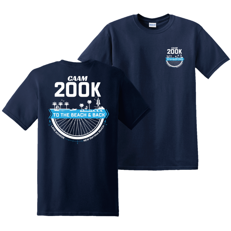 CAAM 200k T-Shirt - Dark Blue