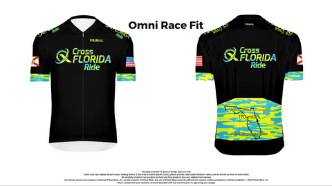 Cross Florida Ride Jersey 2021