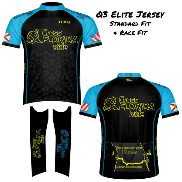Cross Florida Ride Jersey 2020