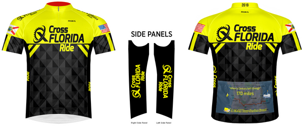 Cross Florida Ride Jersey 2019