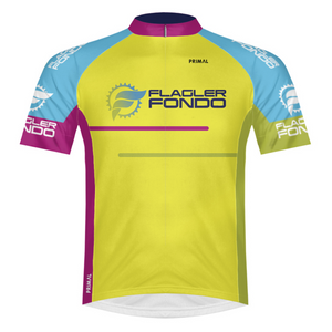 Flagler Fondo Jersey - Yellow