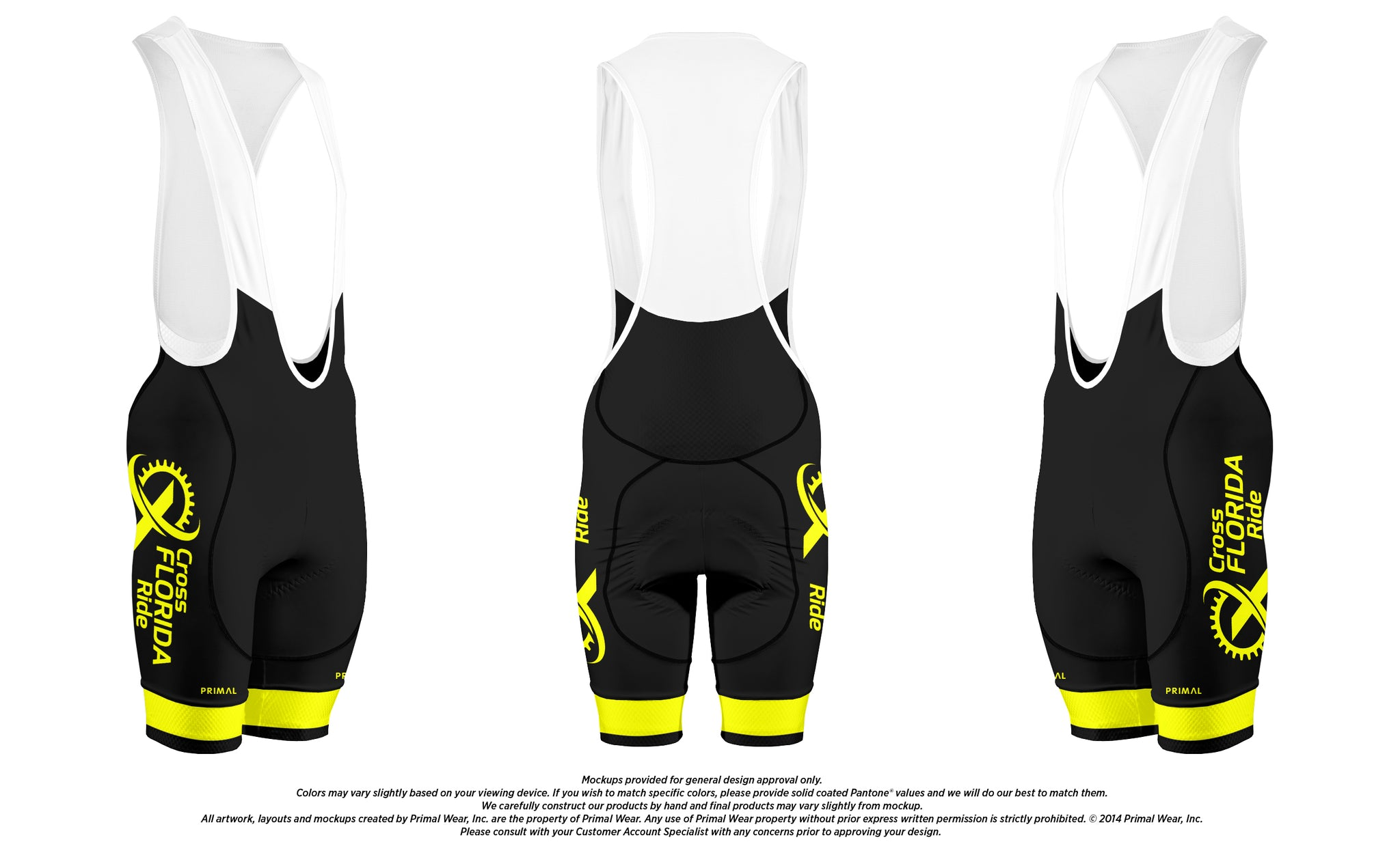 Cross Florida Ride Bibs 2019