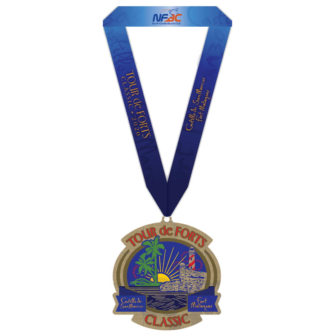 Finisher Medal - Tour de Forts Classic 2020