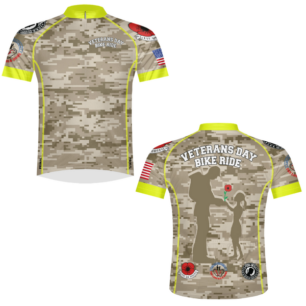 Veterans Day Bike Ride Jersey