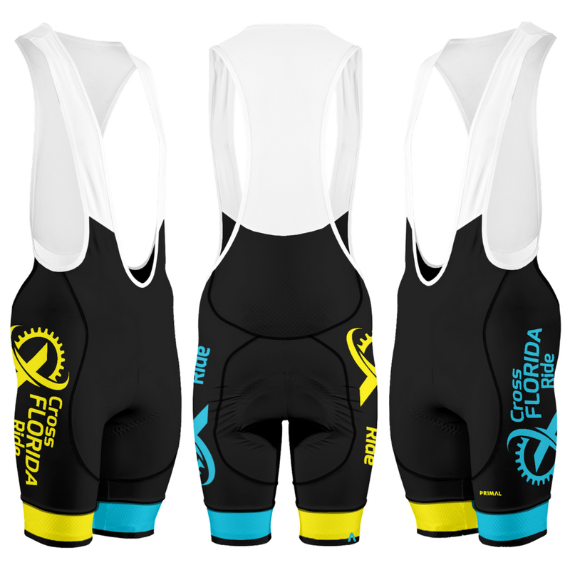 Cross Florida Ride Bibs - 2018