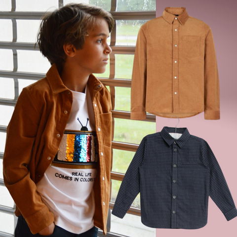 Autumn half term edit- smart shirts