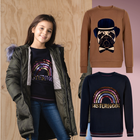 Autumn half term essentials - graphic sweaters