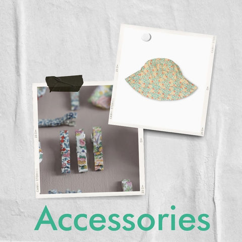 Floral accessories from MINI A TURE and Bon Dep
