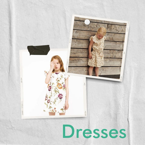 Floral dresses from MINI A TURE and Christina Rohde