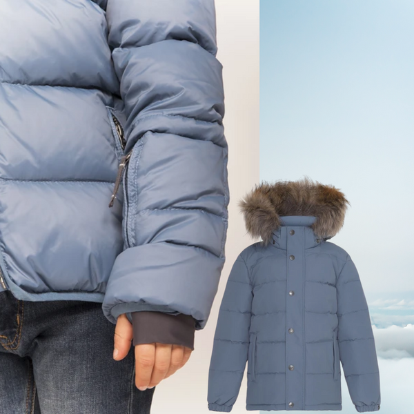 Ver de Terre winter coat for boys