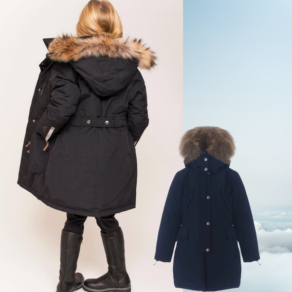 Ver de Terre winter coat for girls