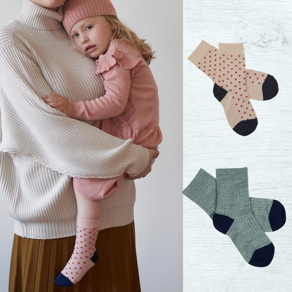 Wool socks for boys and girls