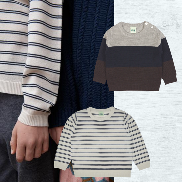 Cosy wool knitted jumpers for kids this winter