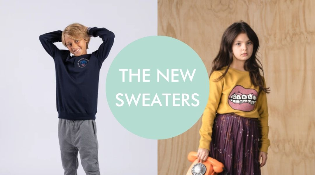 Sweaters for boys and girls from The New