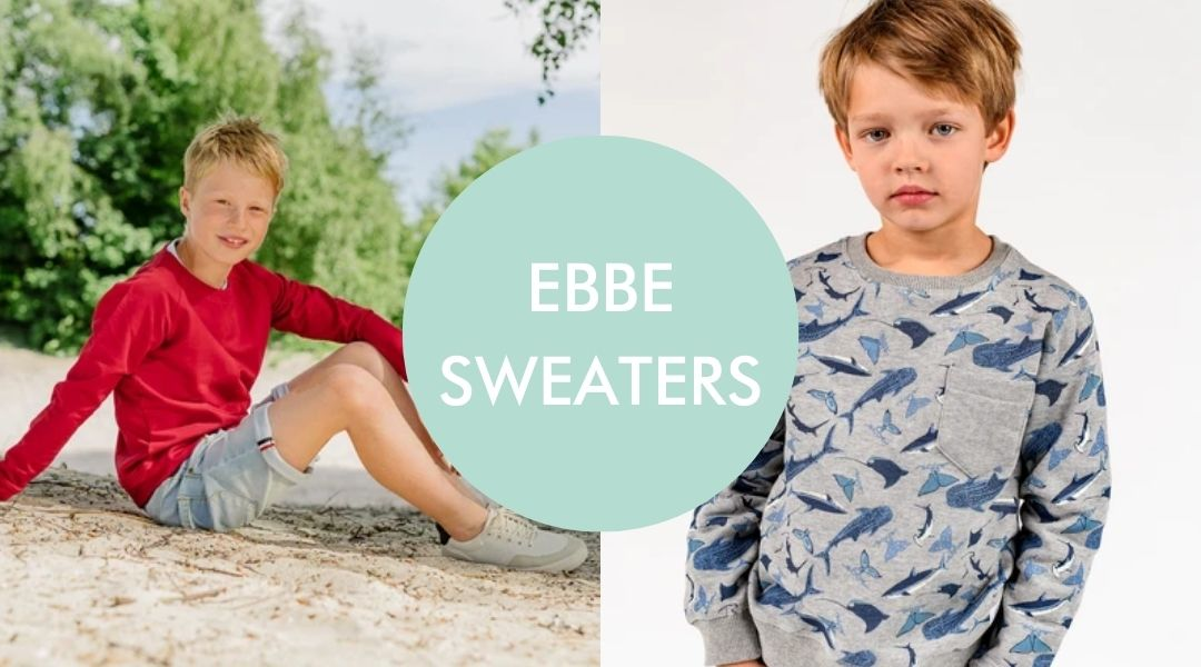 Ebbe sweaters for boys and girls