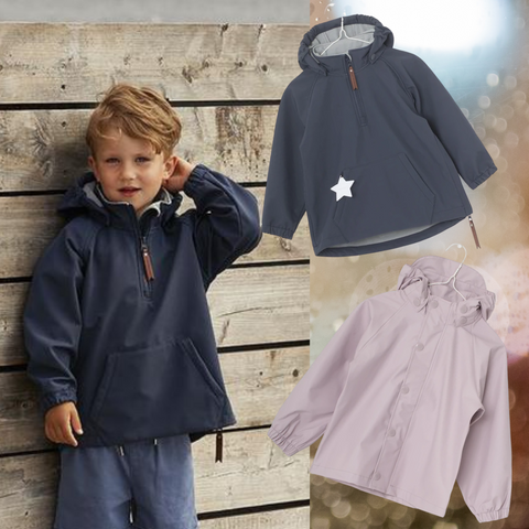 Anoraks and raincoats for autumn